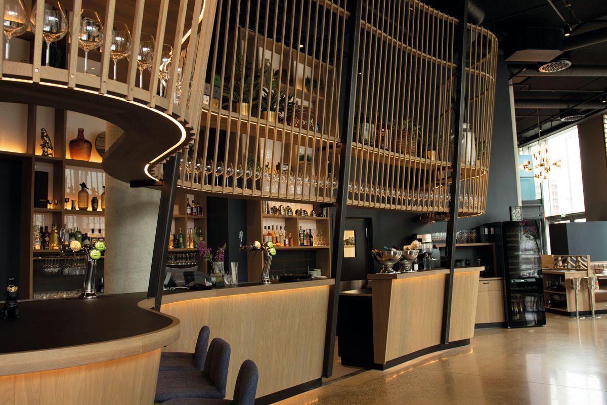 Restaurant Edda, Bjørvika. Foto: Tuva Skare
