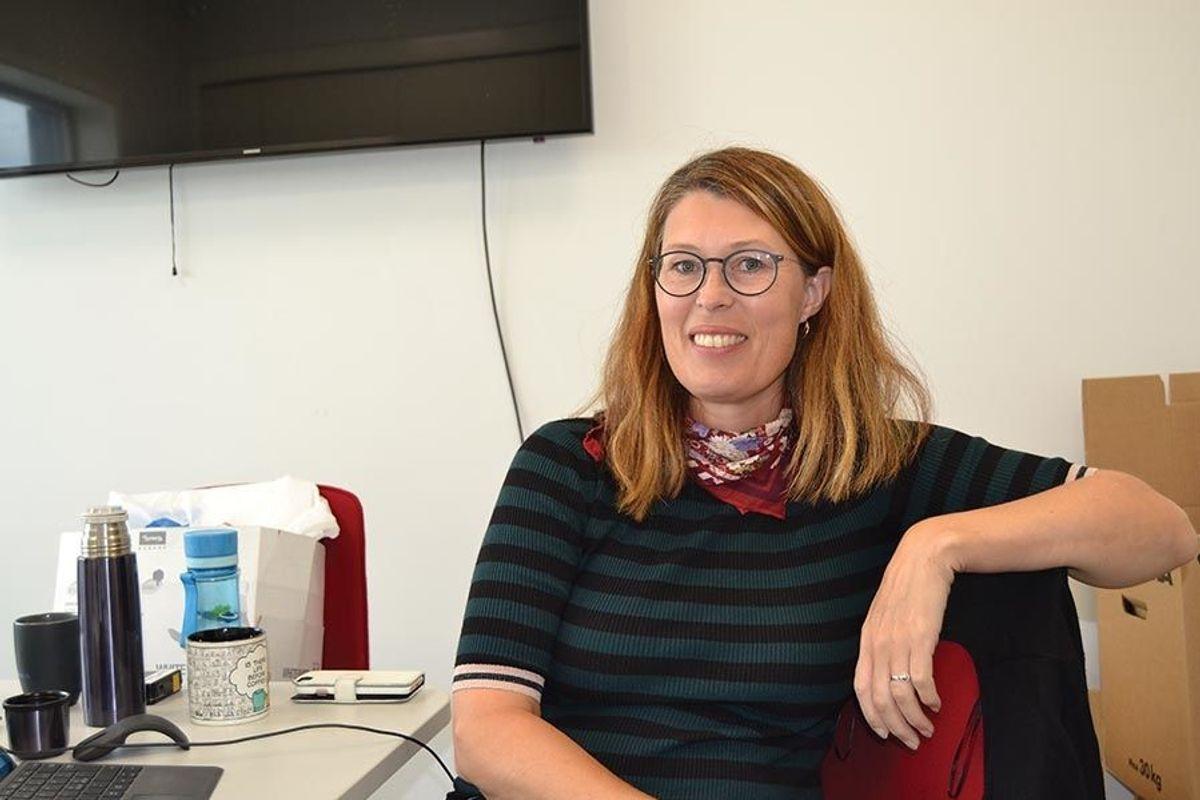 Marit Sollien har ledet Heimdal vgs-prosjektet på vegne av byggherren, Trøndelag fylkeskommune.