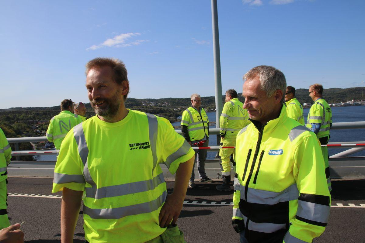Jan Lima og Jonny Madsen i BetonmastHæhre.