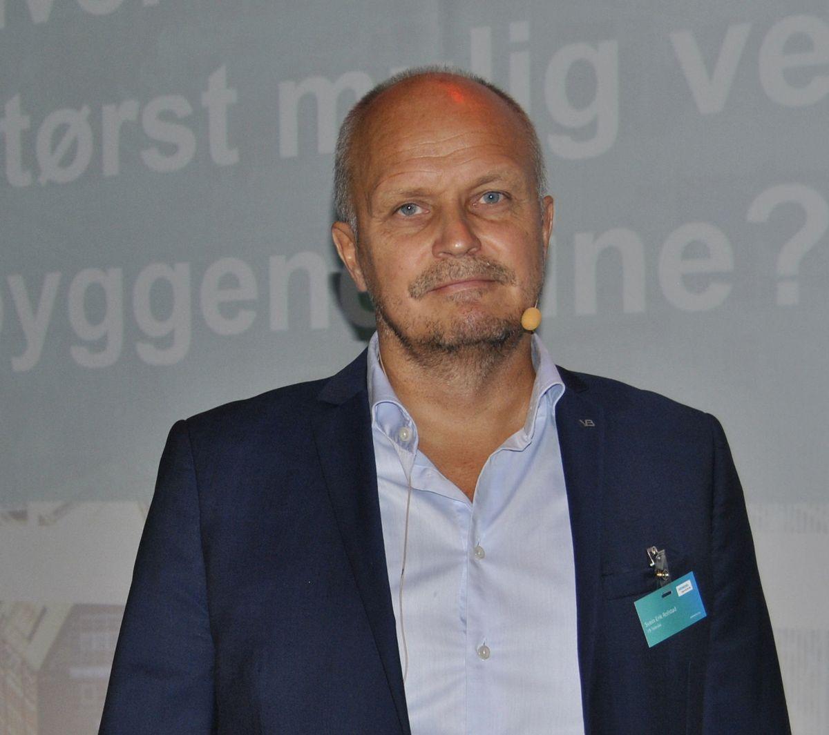 Adm. dir. Svein Erik Rollstad fra VB Tekniske.