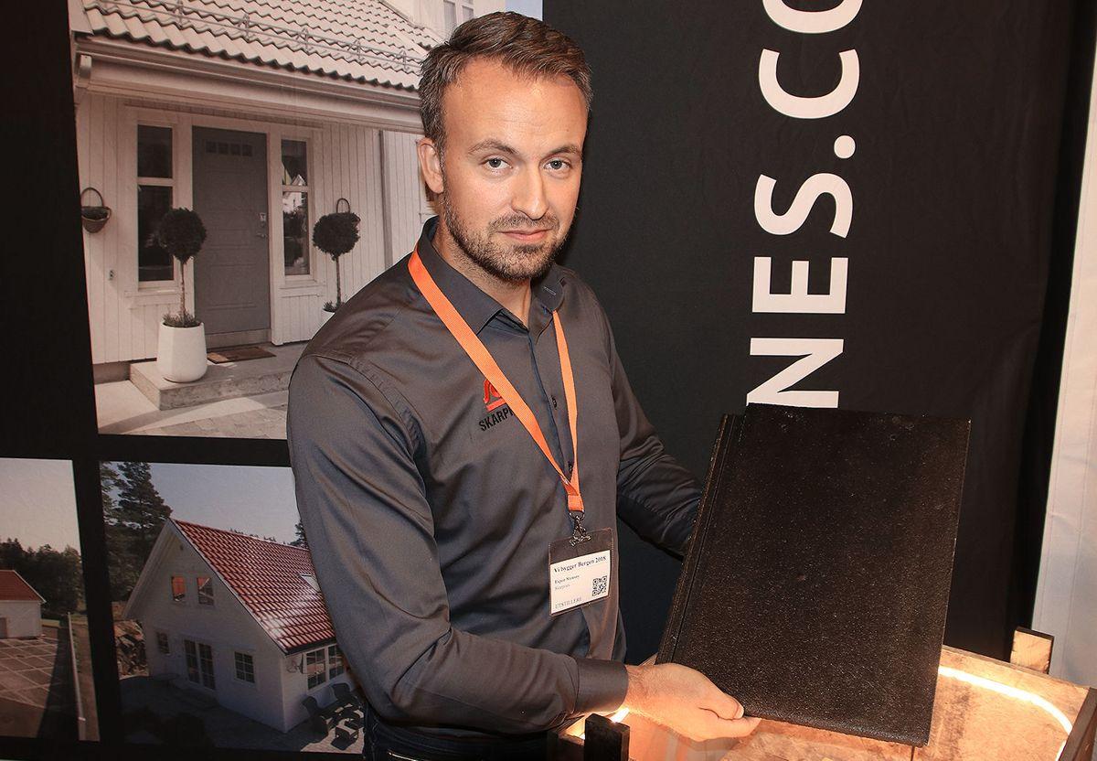 Espen Stensøy, salgs- og markedssjef i Skarpnes.