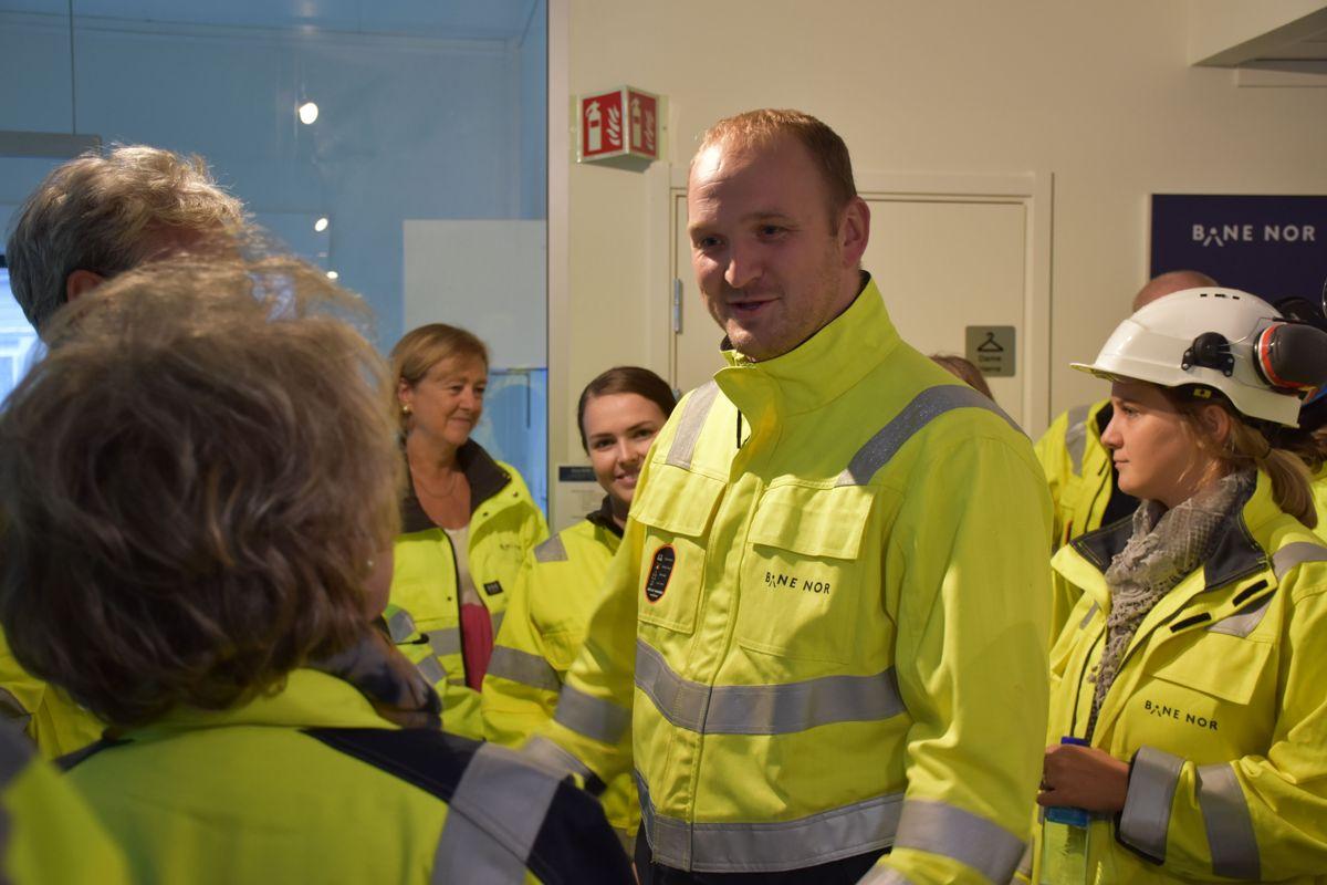 Samferdselsminister Jon Georg Dale var tilstede under arrangementer.