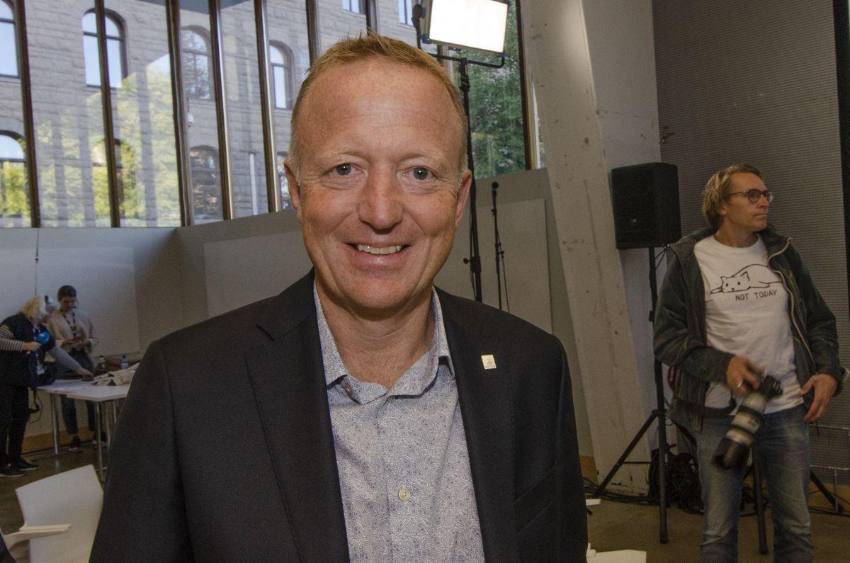 Statsbygg-direktør Harald V. Nikolaisen.