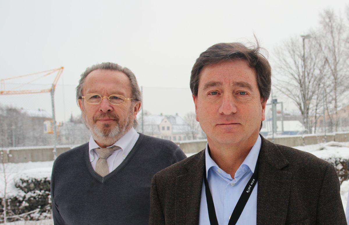 <p>Byggeindustrien møtte anskaffelsesleder Jan Vormeland, prosjektdirektør Per David Borenstein og prosjektstyringsleder Morten Kristoffersen i Bane NOR tirsdag morgen. Kvelden i forveien hadde de tatt beslutningen om å kaste ut den italienske konkurstruede entreprenøren fra Follobane-prosjektet.</p>