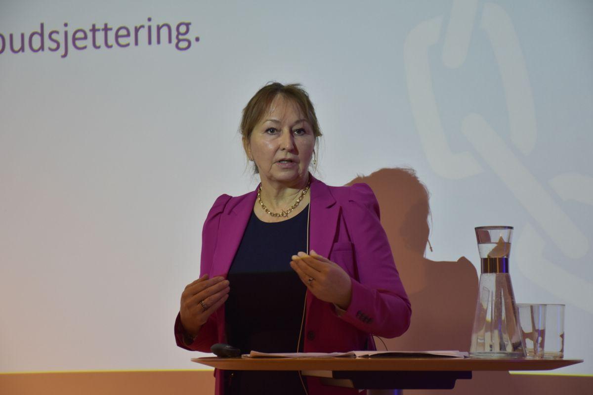 Gunn Marit Helgesen, styreleder i KS.
