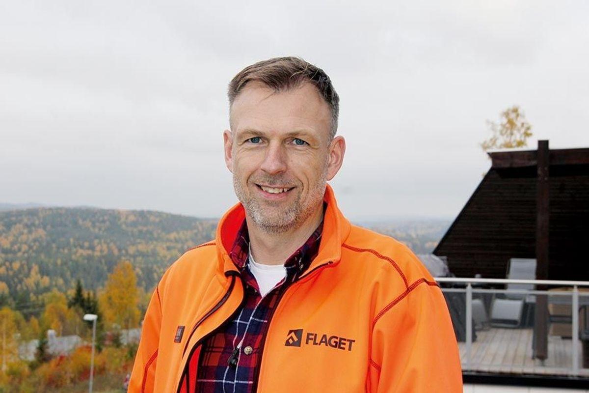 Prosjektleder Børre Bjerknes Gulbrandsen i Flaget AS.