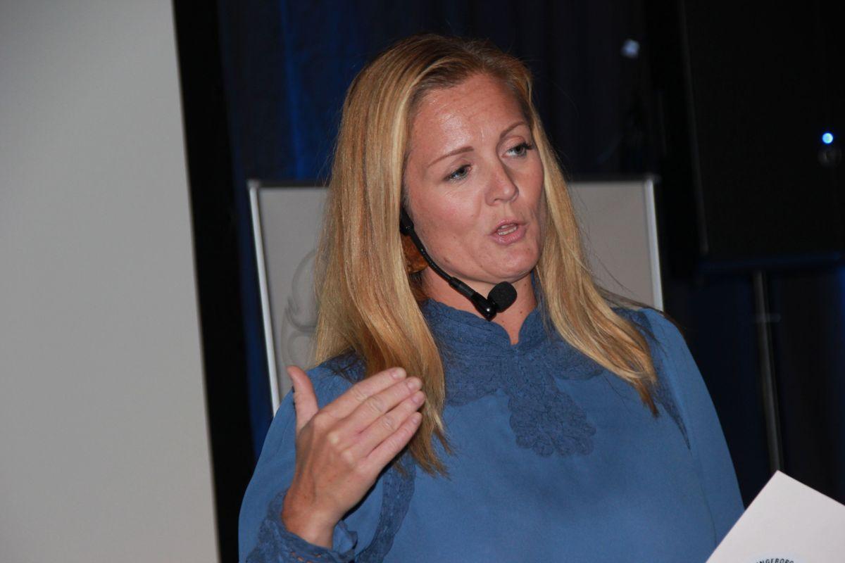 Konferansier for inspirasjonsdagen var Siri Kristiansen. Foto: Svanhild Blakstad