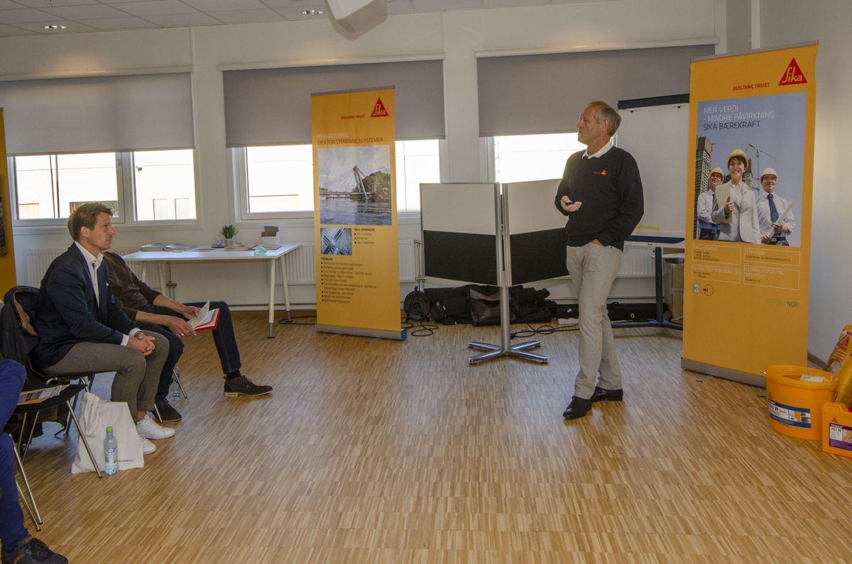 Sjef for Sika Norges nye prosjektgruppe , Erik Daleng.