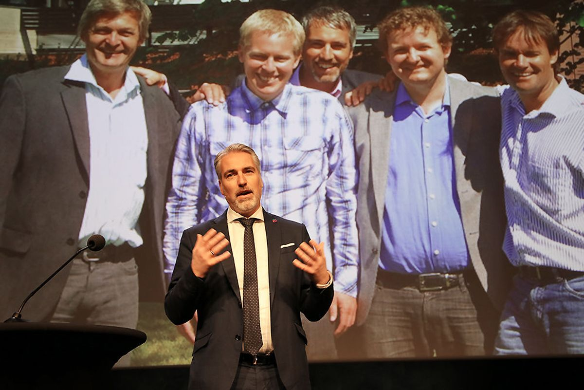 Håvard Bell, administrerende direktør i Catenda.