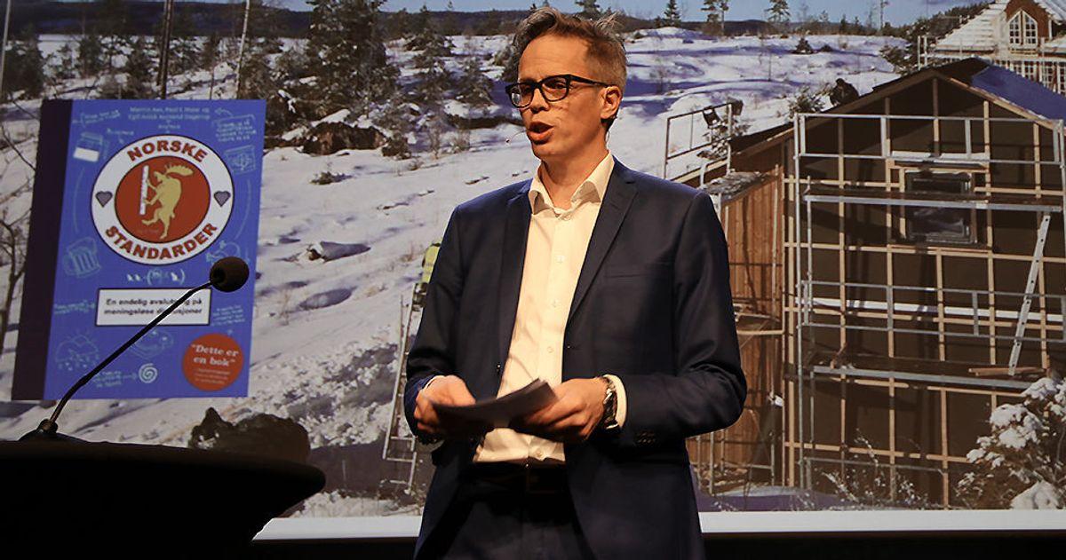 Jacob Mehus, administrerende direktør i Standard Norge.
