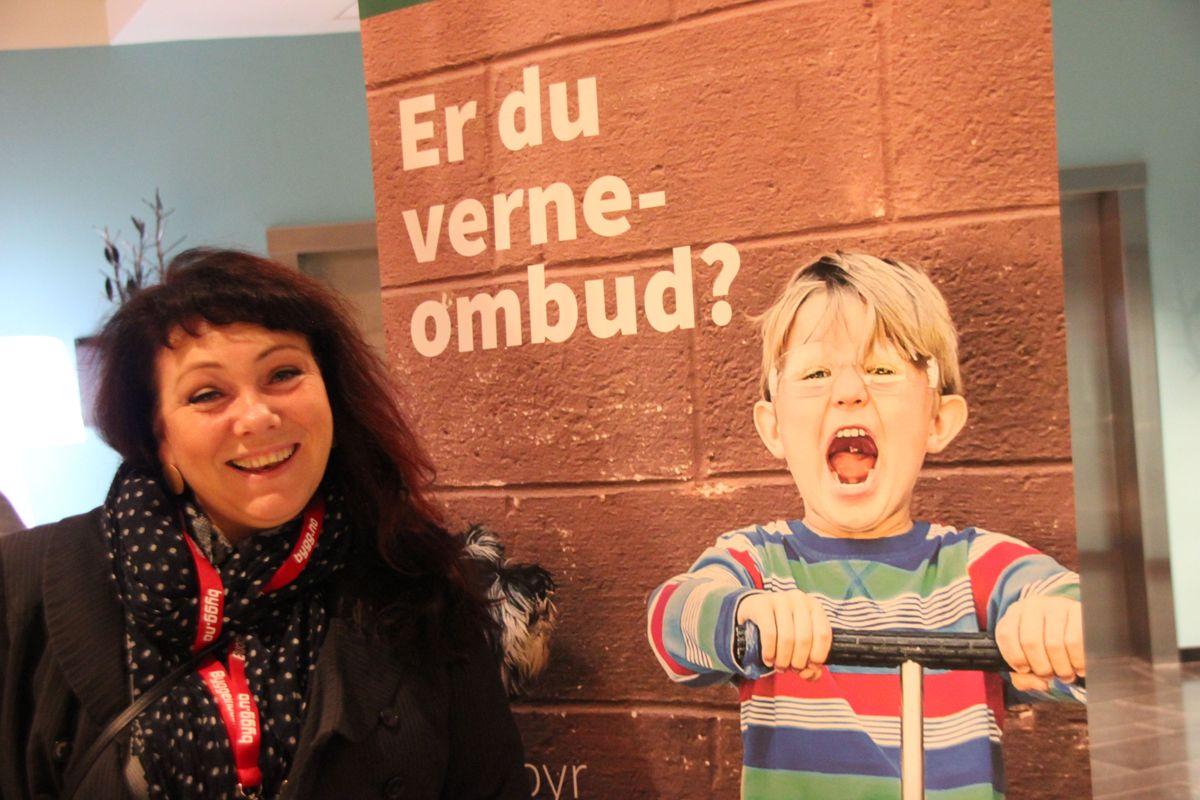 AOF på HMs-konferansen 2018. Foto: Svanhild Blakstad