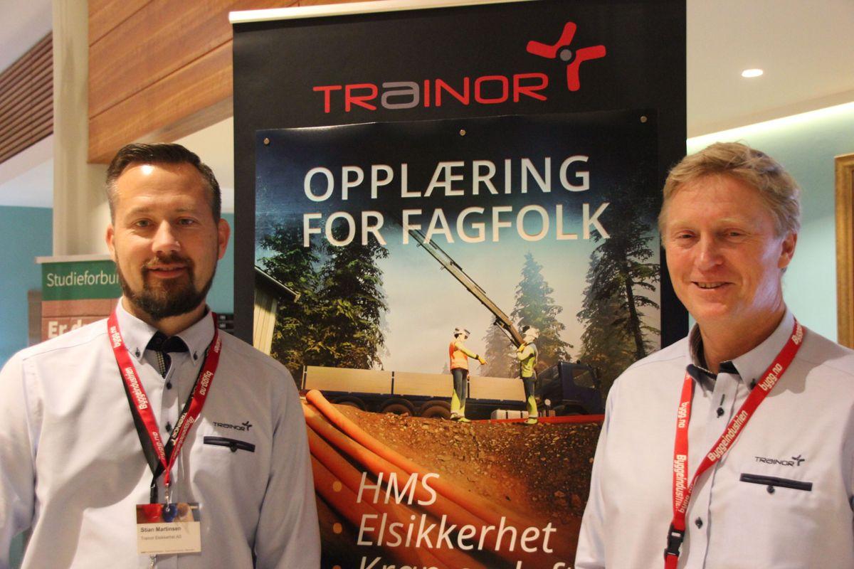 Trainor på HMS-konferansen 2018. Foto: Svanhild Blakstad