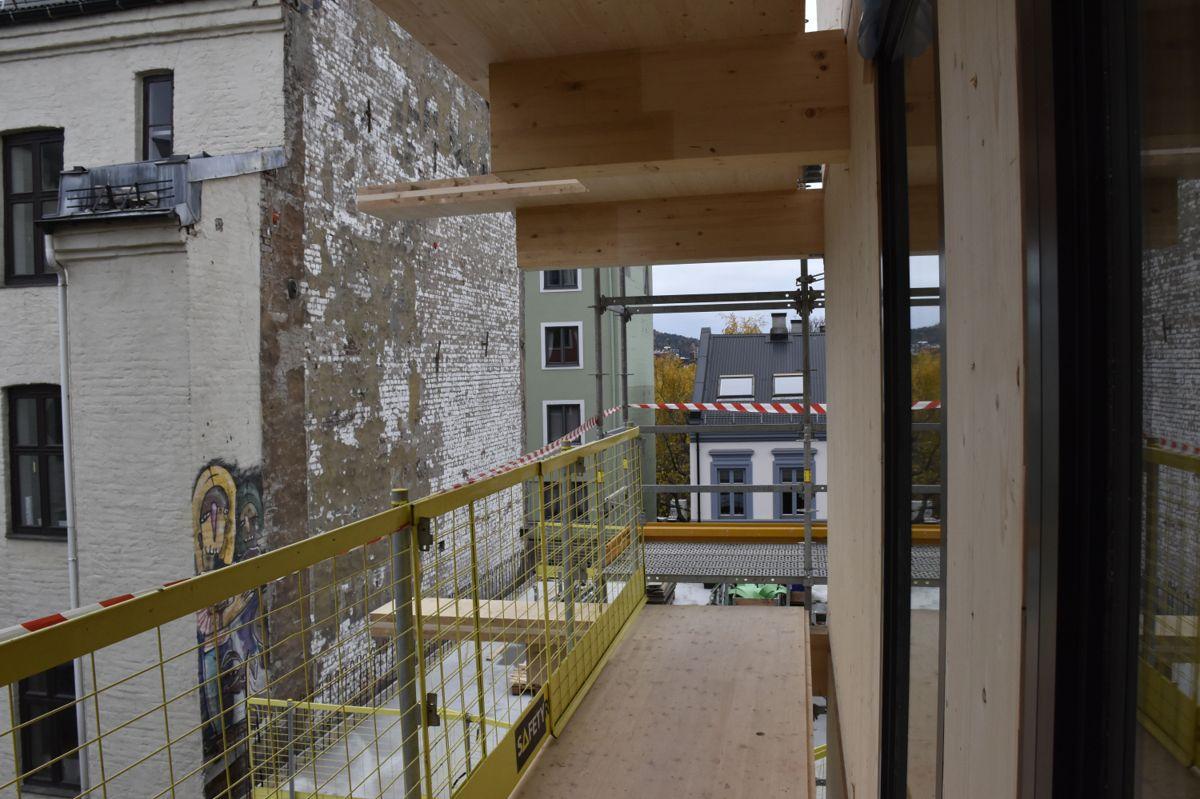 Infill er et konsept for byreparasjon, hvor det bygges mellom to bygninger.