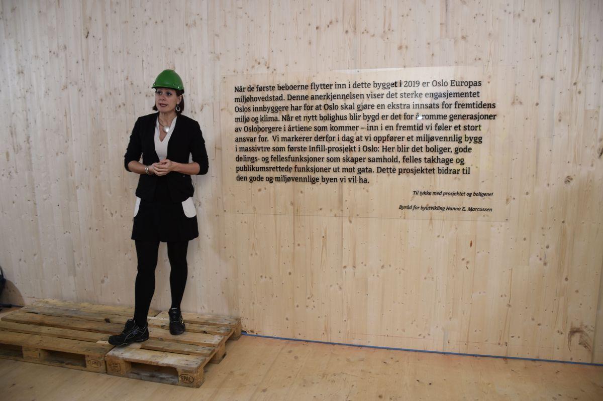 Hanna Marcussen håper flere byggherrer følger i Aspelin Ramms fotspor.