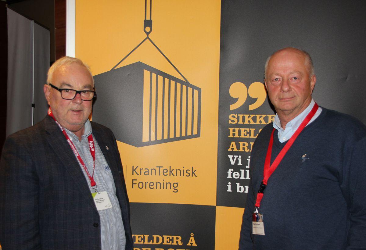 Norsk kranteknisk forening på HMS-konferansen 2018. Foto: Svanhild Blakstad