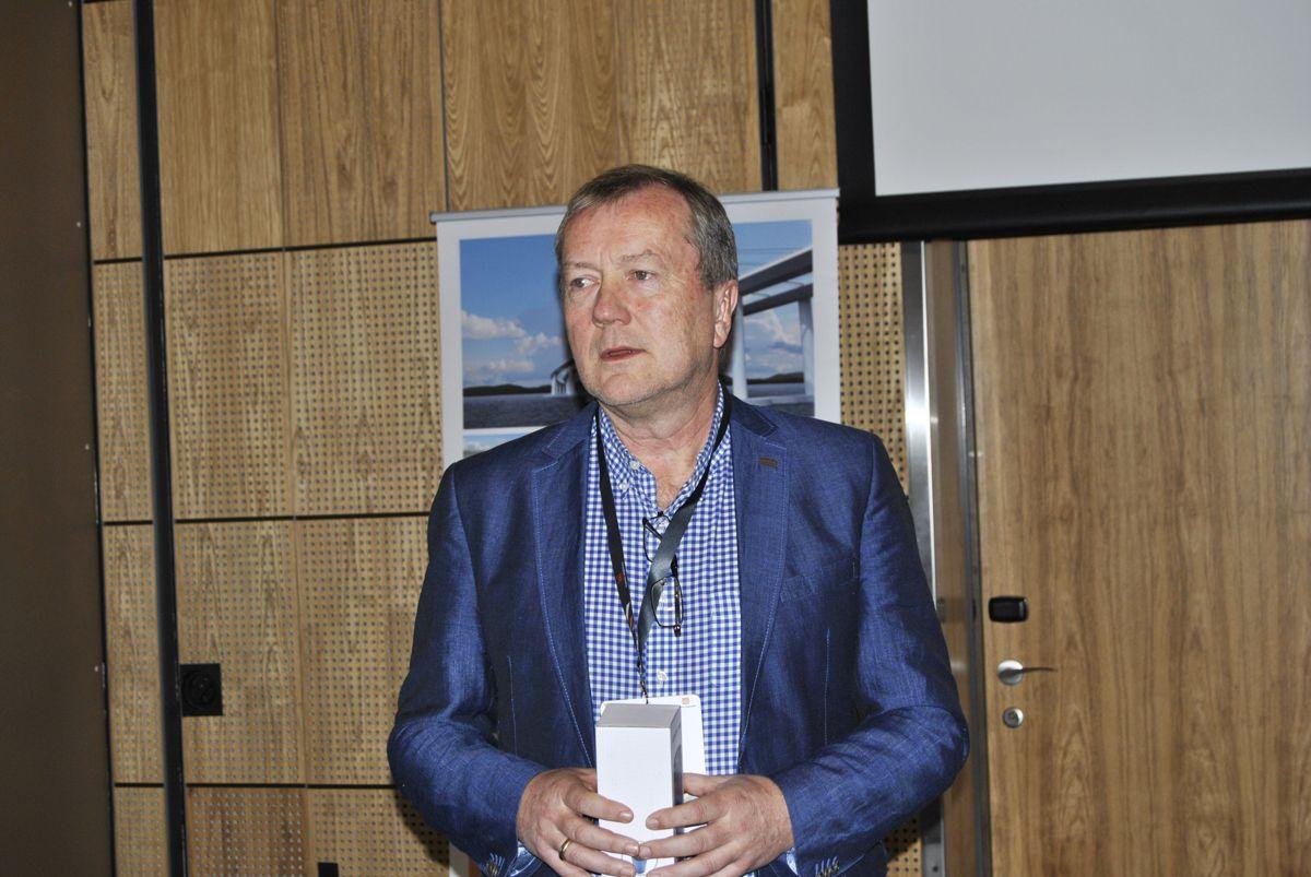 Kjetil Strand fra Statens vegvesen leder delprosjektet om strategi. Foto: John Inge Vikan