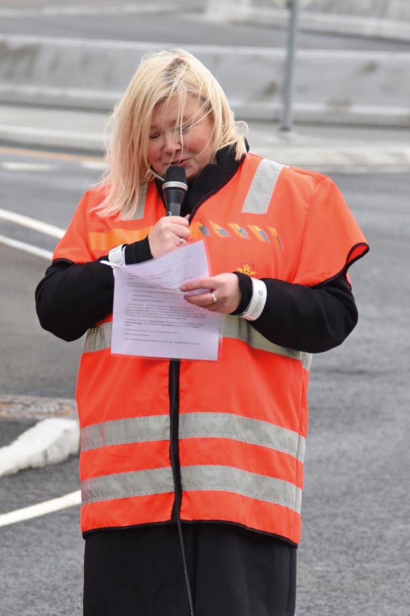 Avdelingsdirektør Grethe Vikane i Statens vegvesen.