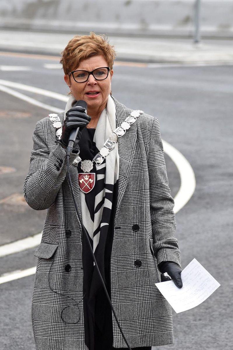 Fylkesordfører Anne-Gine Hestetun i Hordaland.
