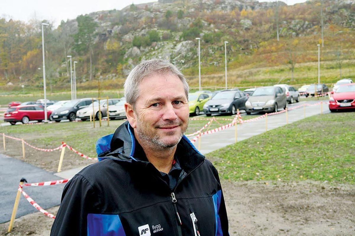 Prosjektleder Geir Johansen.