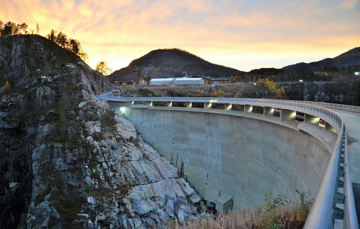 Sarvsfossen dam. Foto: Jan Eldegard Hjelle