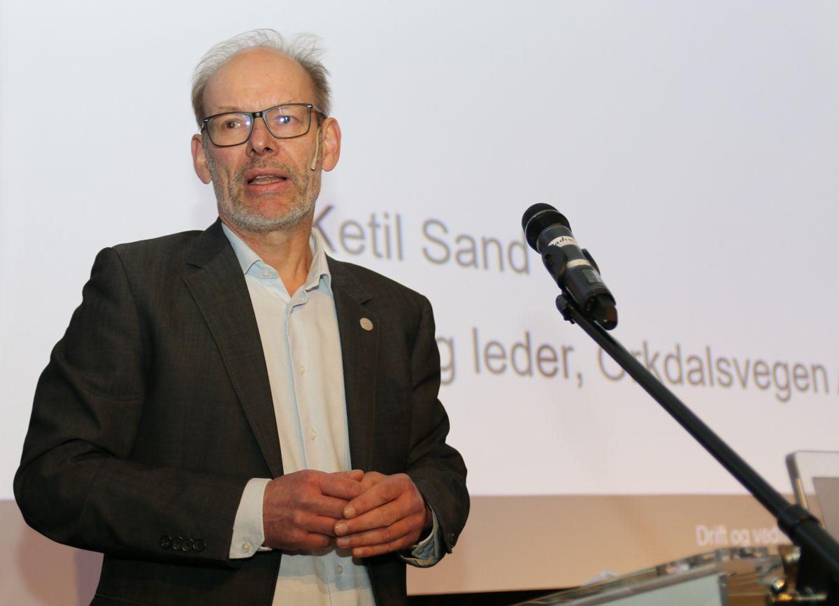 Ketil Sand i Skanska Norge.