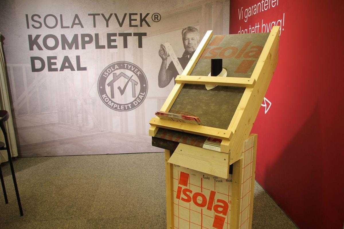 Proffkundesamling for Bygger'n på The Qube. Foto: Svanhild Blakstad