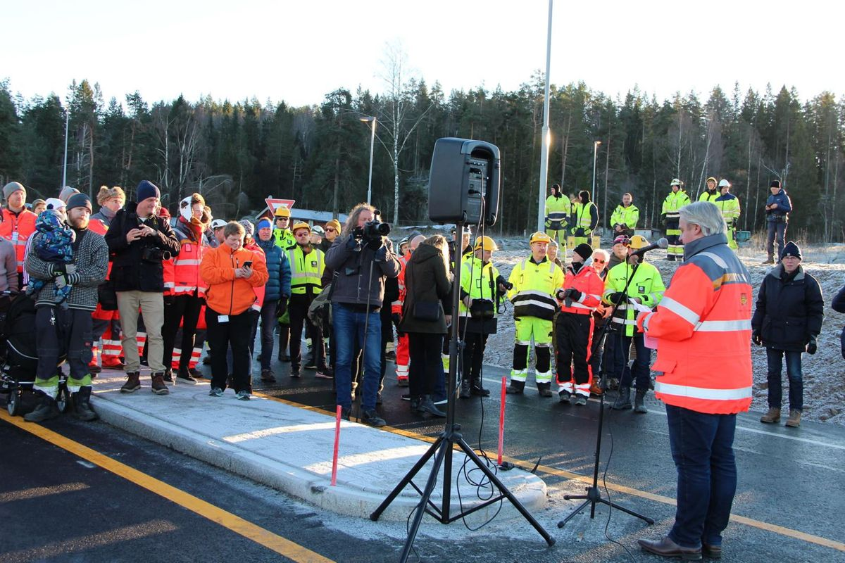 Foto: Elin Fykerud Johannessen/Statens vegvesen