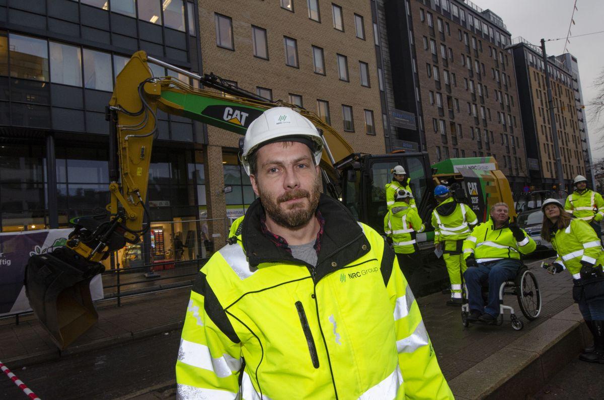 Prosjektleder Tore Heggenes i NRC.