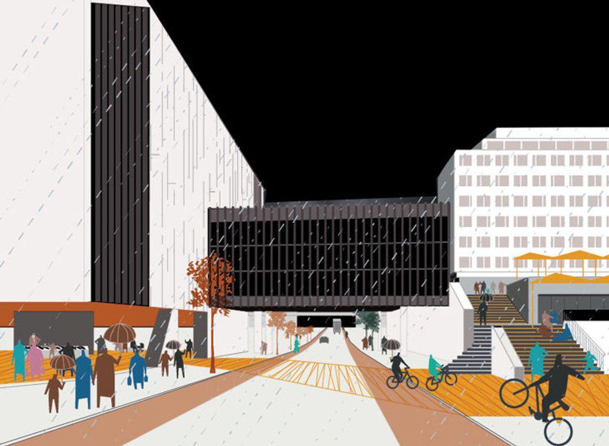 Illustrasjon: Rodeo arkitekter / Lala Tøyen