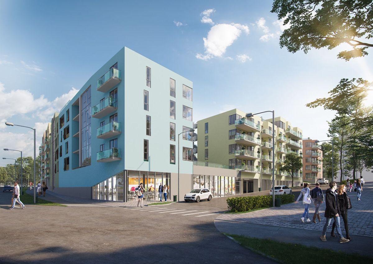 Illustrasjon: Skibnes arkitekter / XR