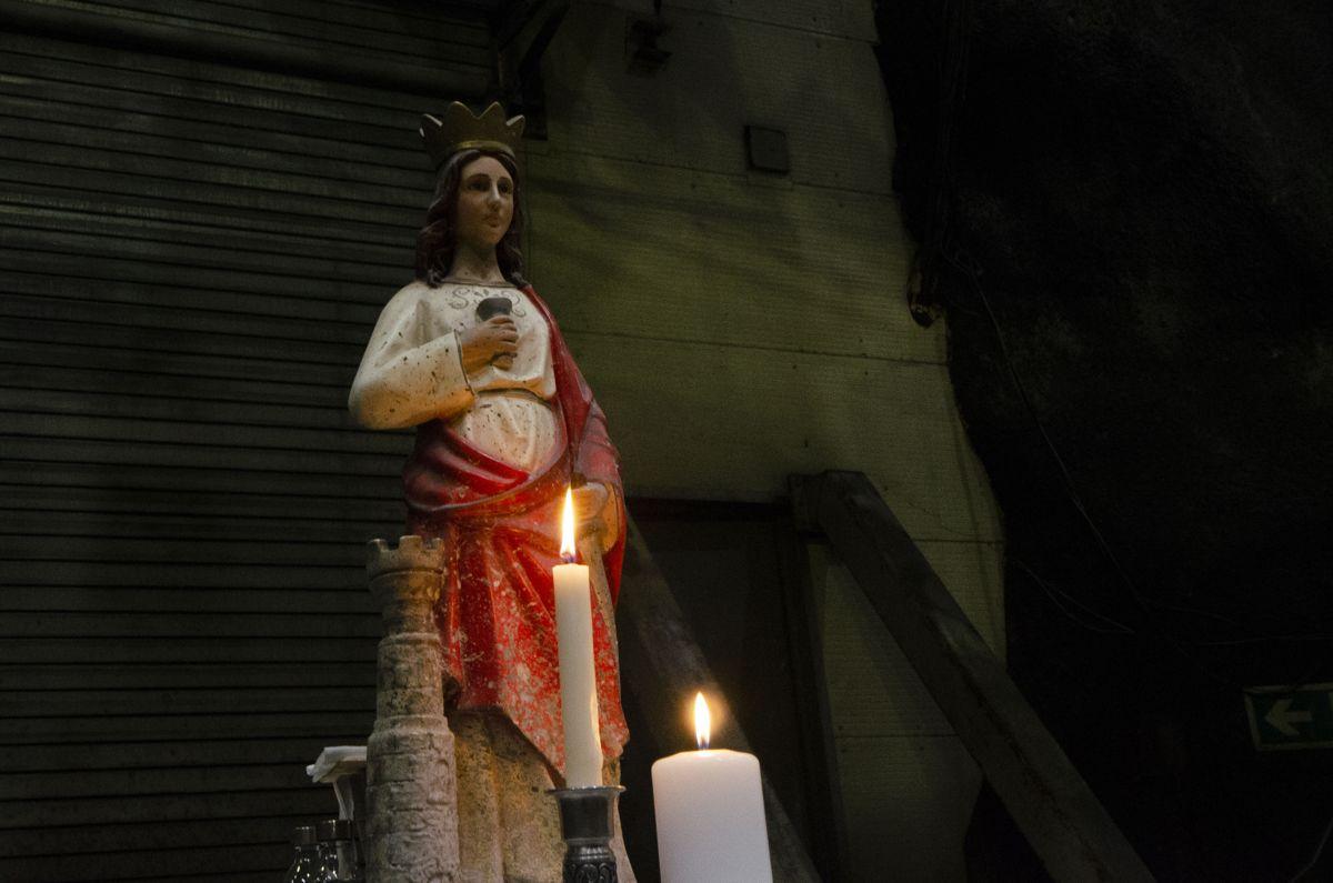 Sankta Barbara ble markert på Follobanen 4. desember.