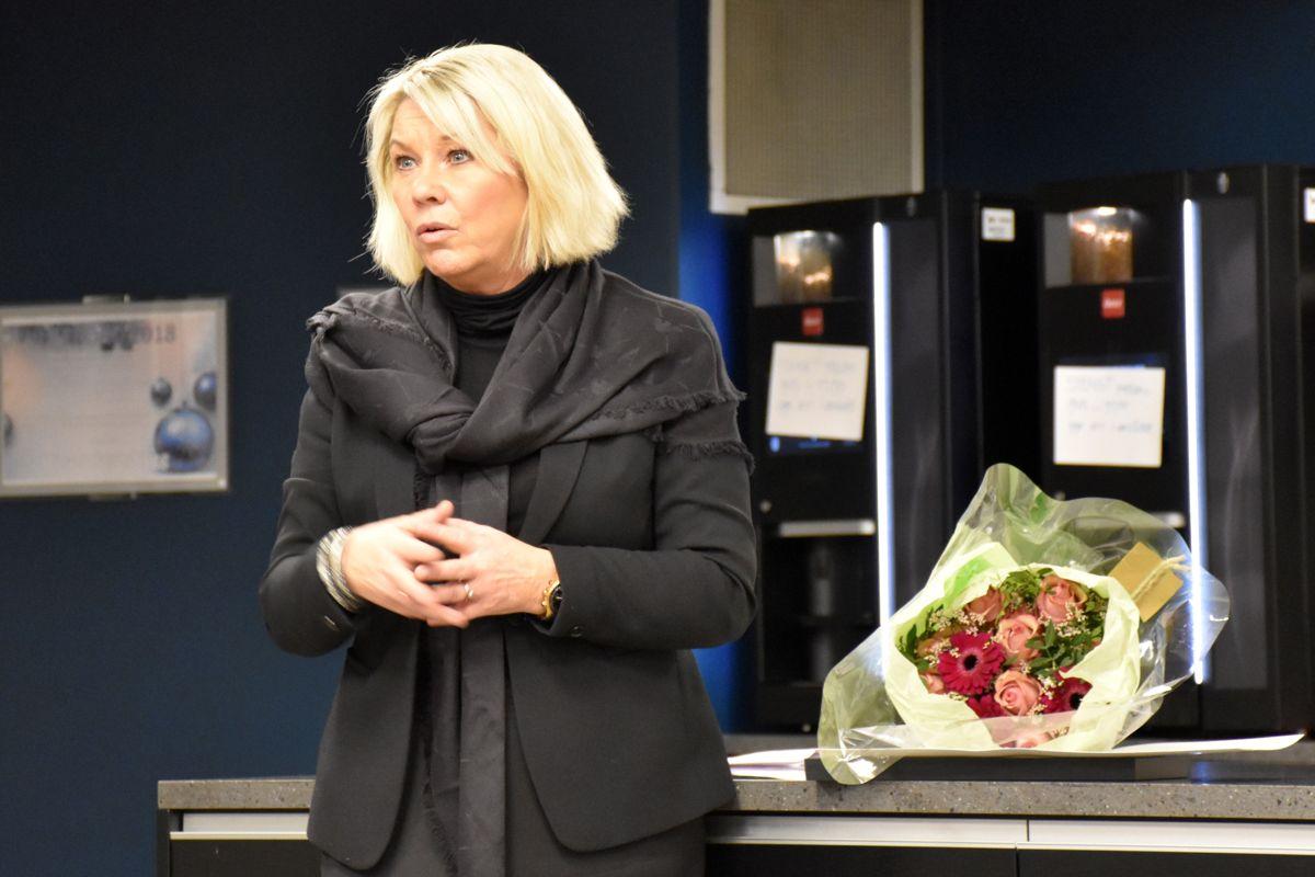 Monica Mæland delte ut prisen.