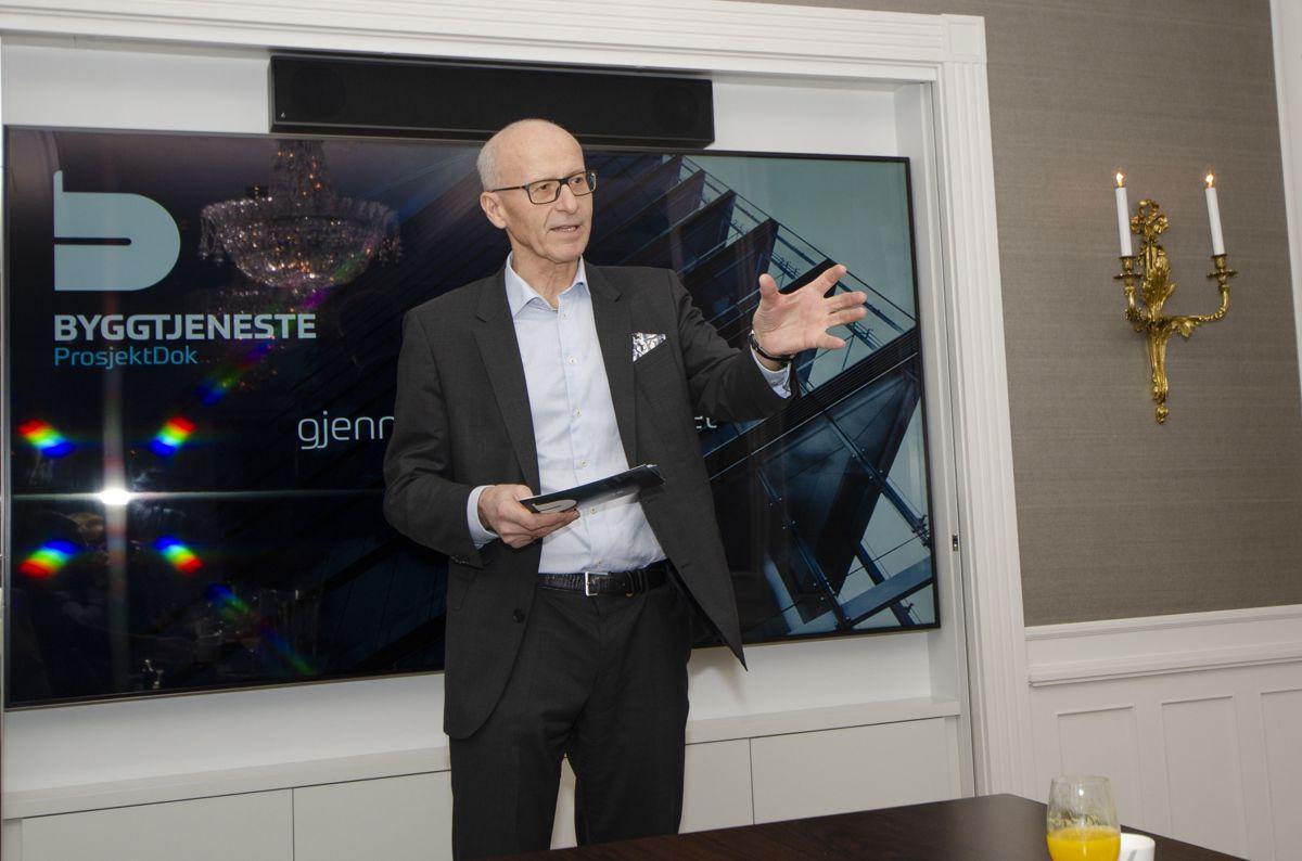 Administrerende direktør Halvard Gavelstad i Byggtjeneste.