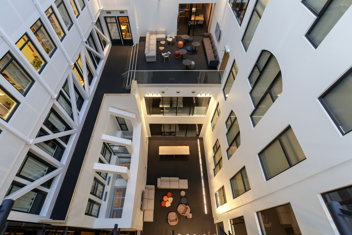 Stortingets nye lokaler i Prinsens gate 26 som skal tas i bruk i midten av januar. Foto: Cornelius Poppe / NTB scanpix