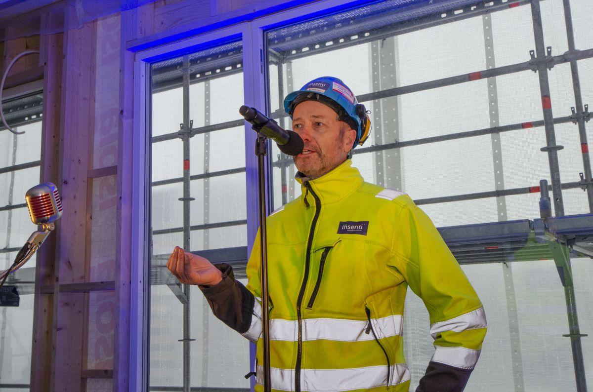 Prosjektleder Einar Blakstad i Insenti.