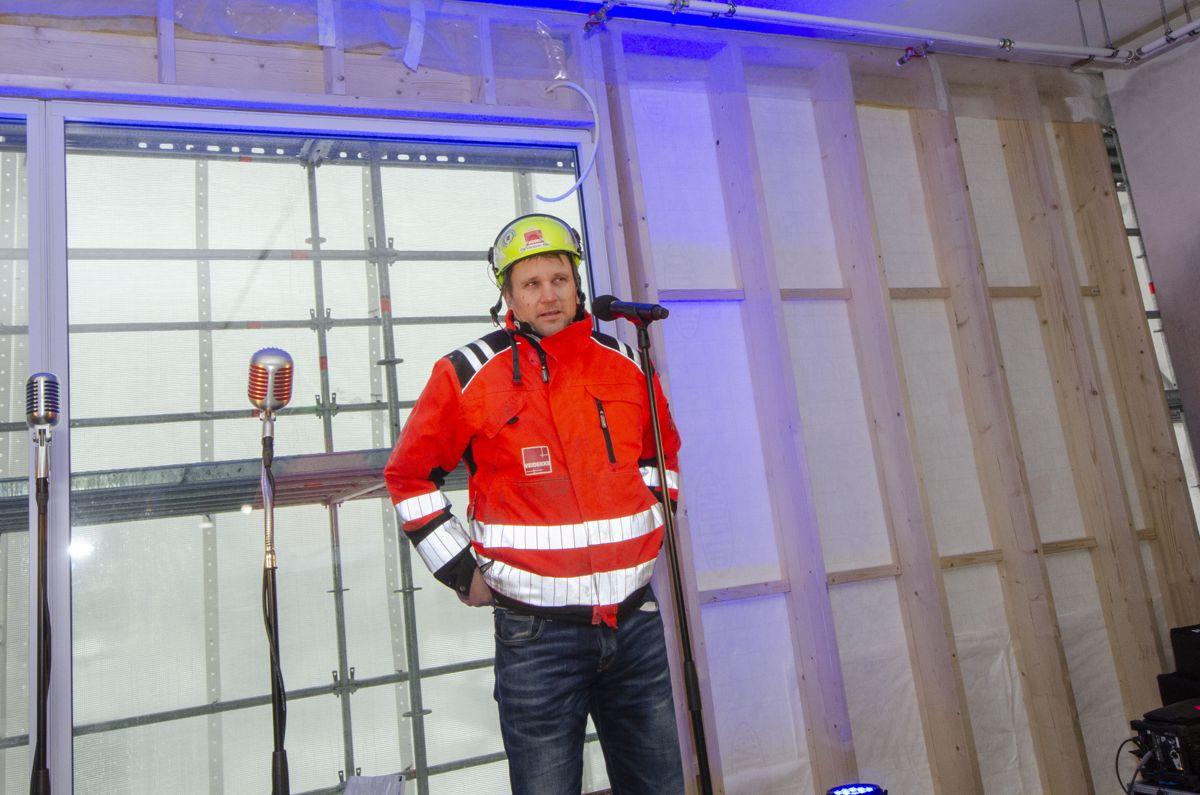 Prosjektleder Ole-Christian Stav i Veidekke.