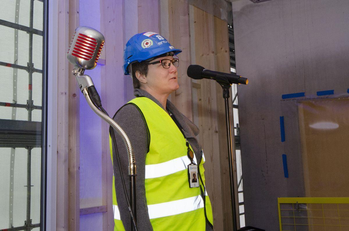 Prosjektsjef Inger Aas i Entra.