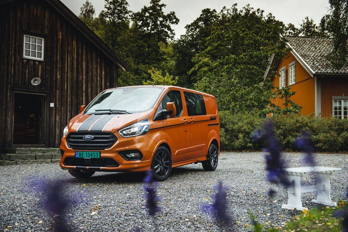 Ford Transit Custom Sport. Foto: Ford