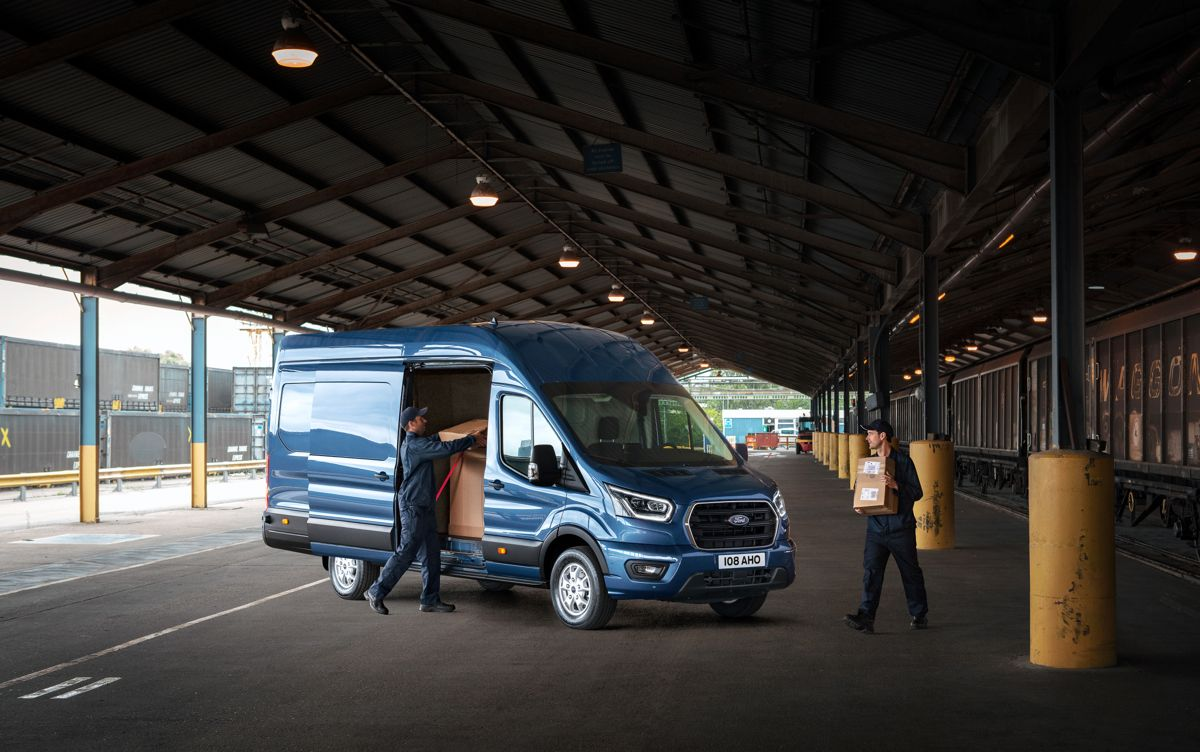 To-tonns Ford Transit. Foto: Ford