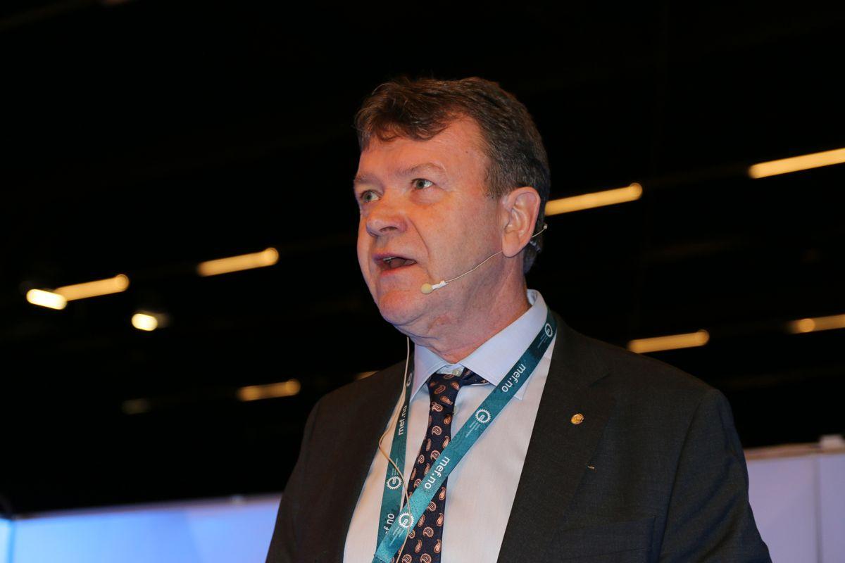 Styreleder Arnstein Repstad i MEF.