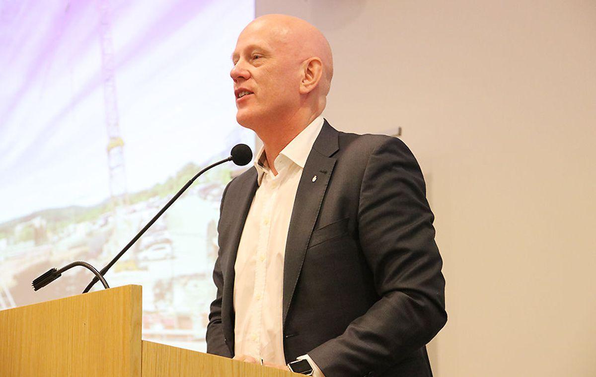 Daglig leder John-Erik Reiersen i Betongelementforeningen.