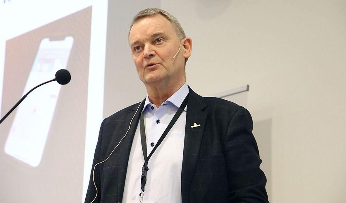 Styreleder i Betongelementforeningen, Pål Sanne (Kynningsrud Prefab).