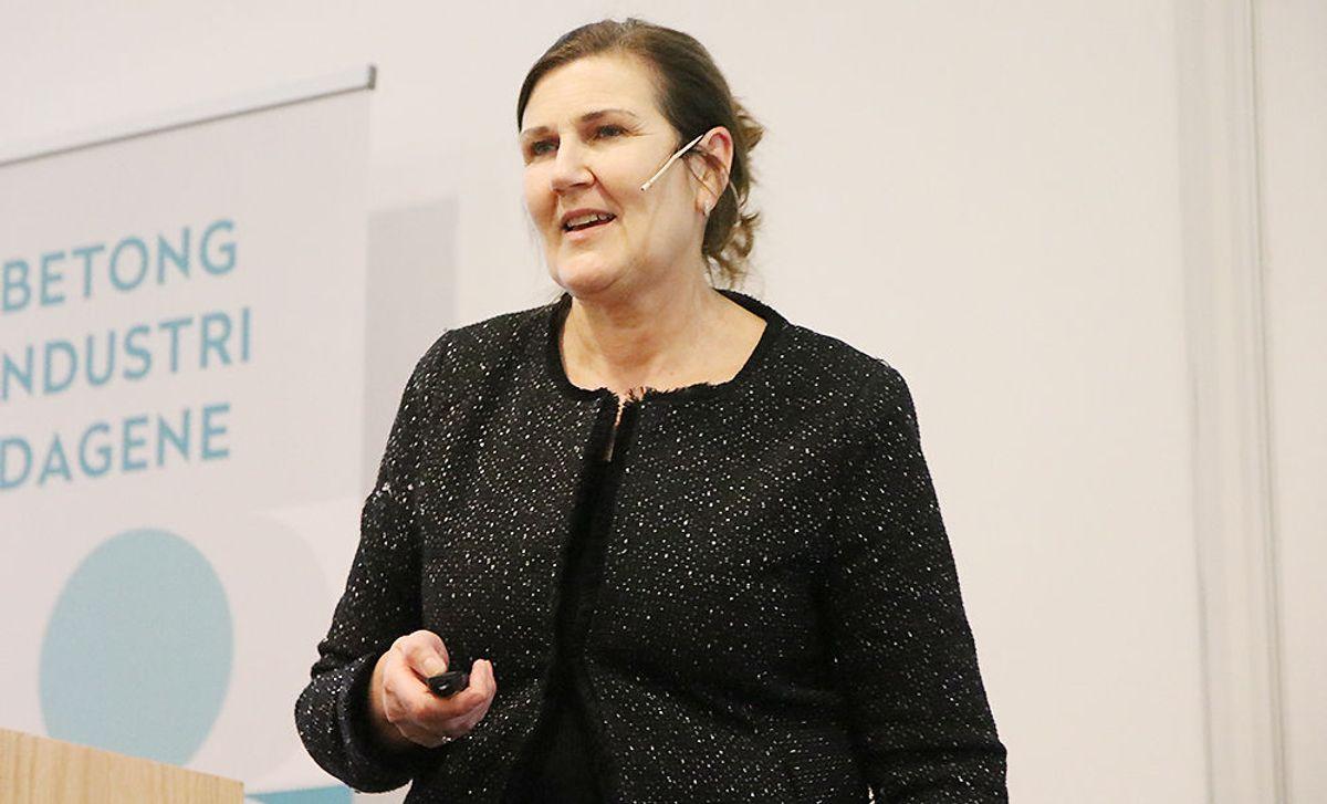 Adm. dir. Ingrid Dahl Hovland i Nye Veier AS.