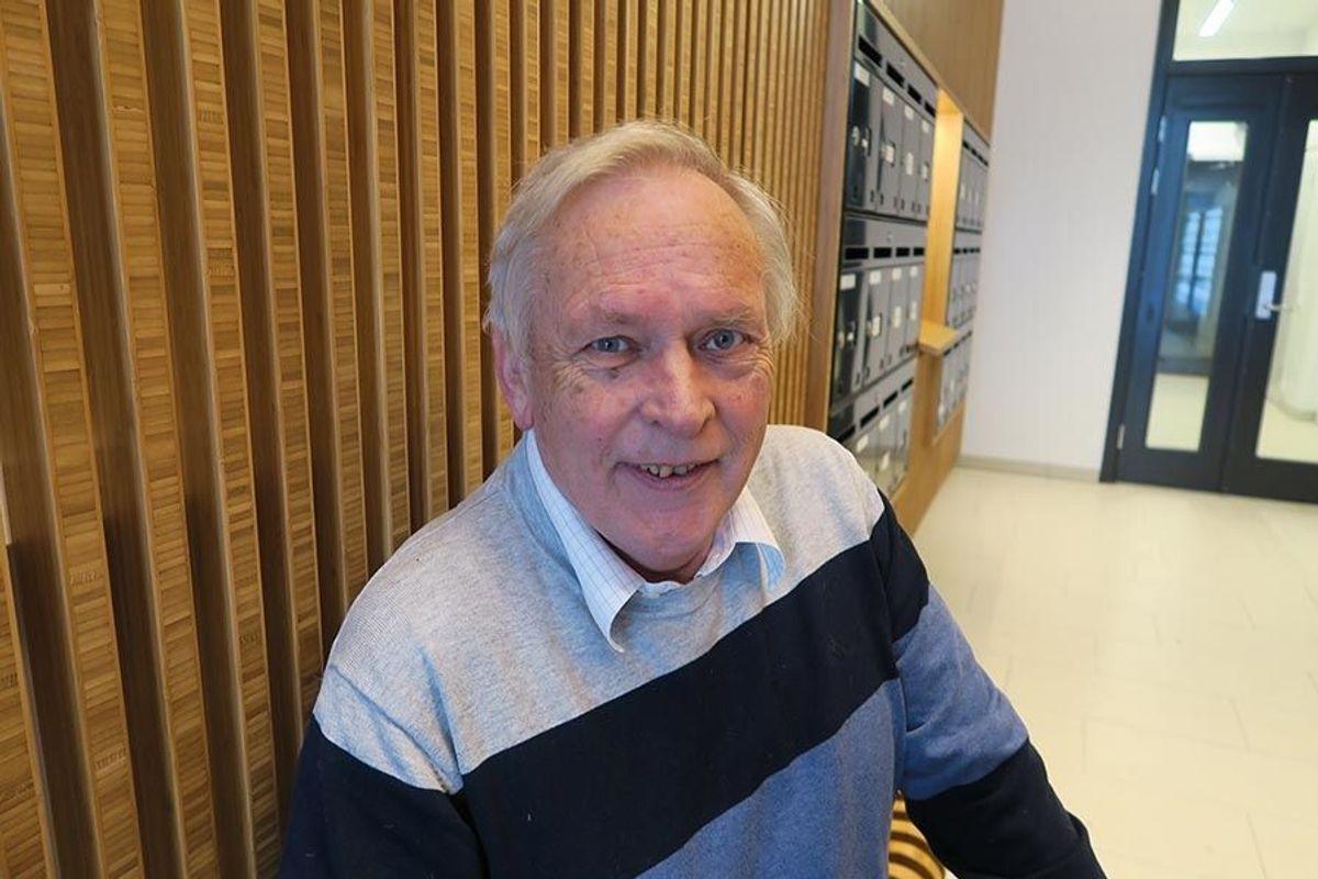 John Grønlien hos byggherrerepresentanten Totalprosjekt AS er strålende fornøyd med prosjektet.