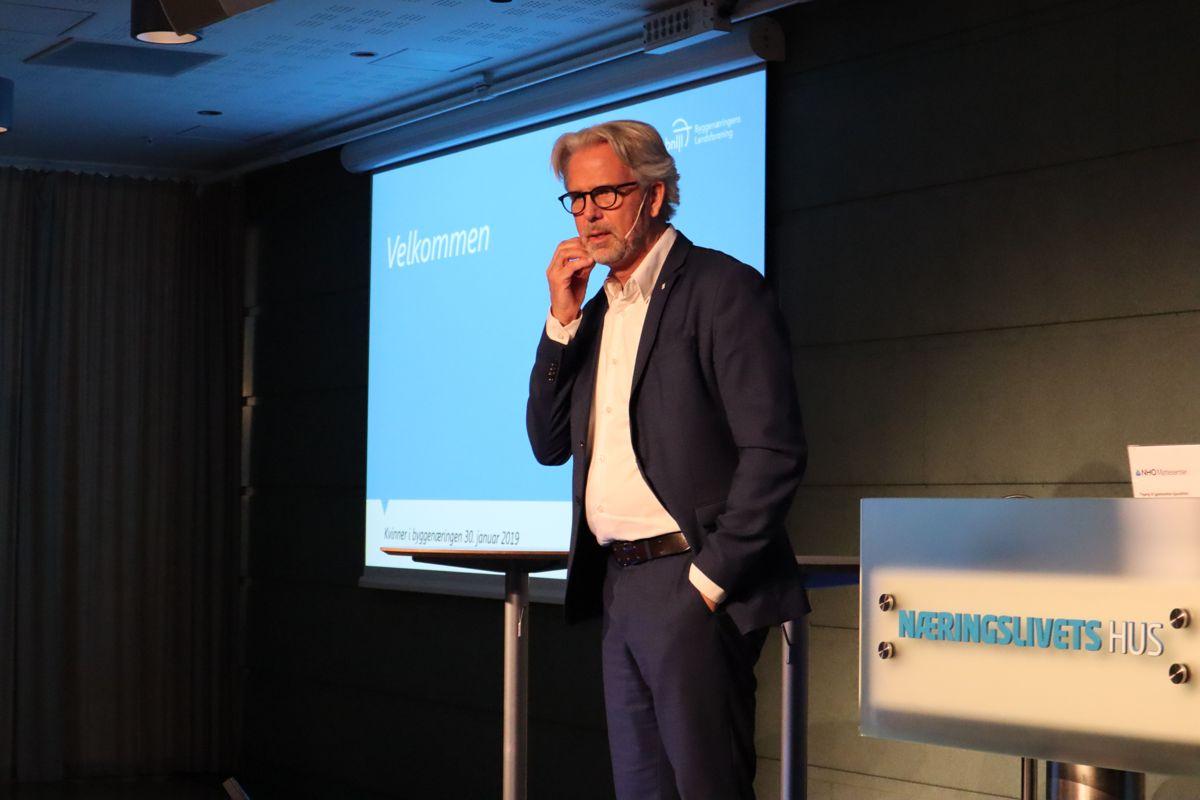 BNL-leder Jon Sandnes. Foto: Svanhild Blakstad