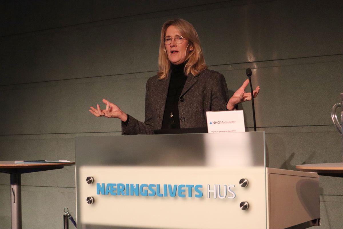 Kari Sandberg, administrerende direktør i EBA. Foto: Svanhild Blakstad