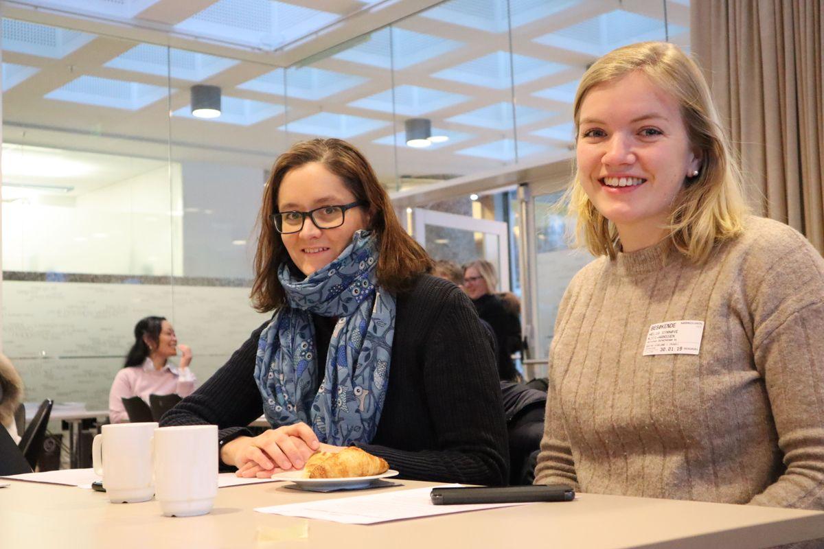 Det var fullt hus på BNLs samling for økt kvinnerekruttering i byggenæringen. Foto: Svanhild Blakstad