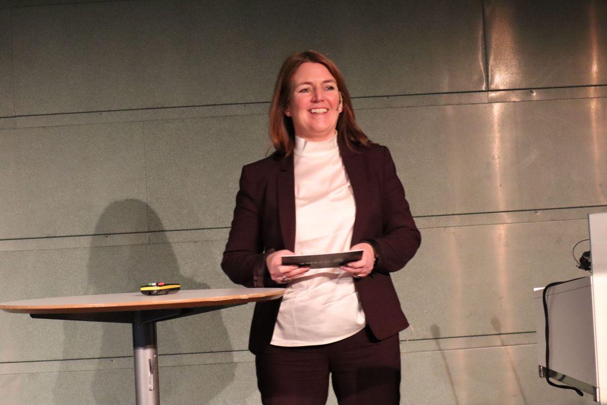 Sweco-direktør Grethe Aspelund. Foto: Svanhild Blakstad