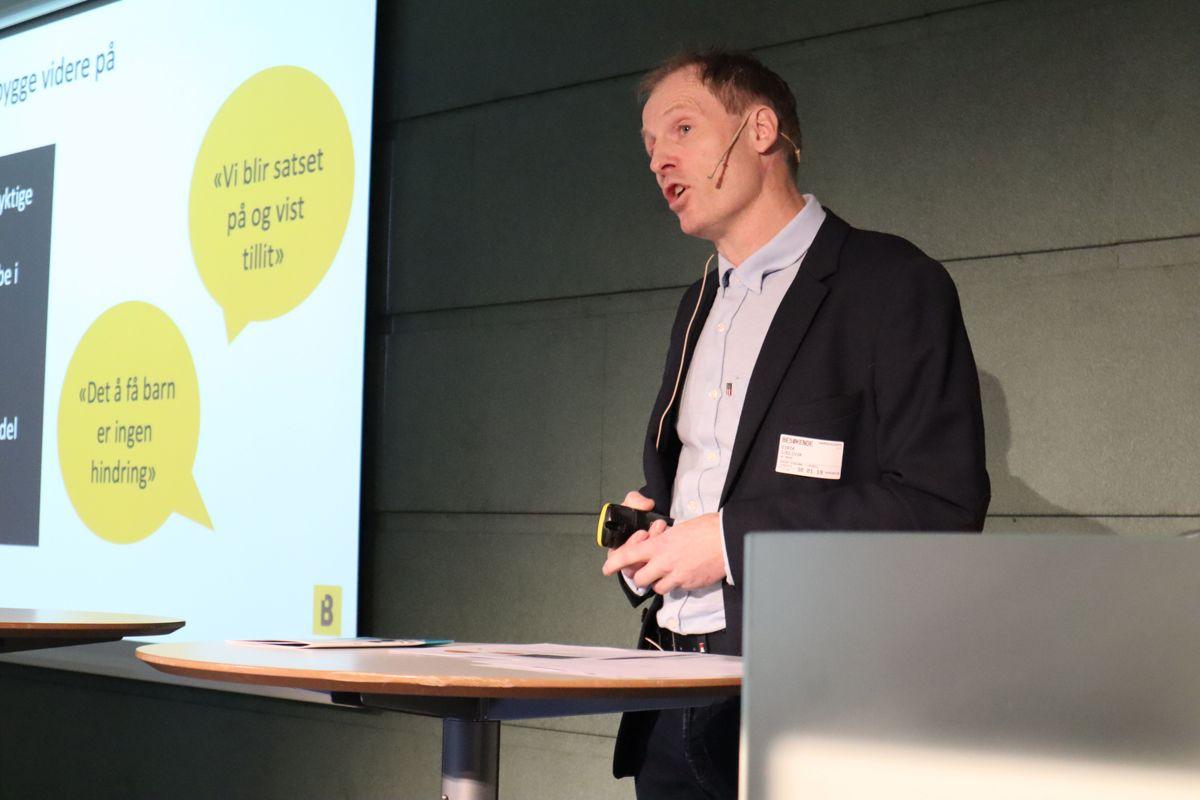 Konsernsjef Eirik Gjelsvik i Backe Gruppen. Foto: Svanhild Blakstad