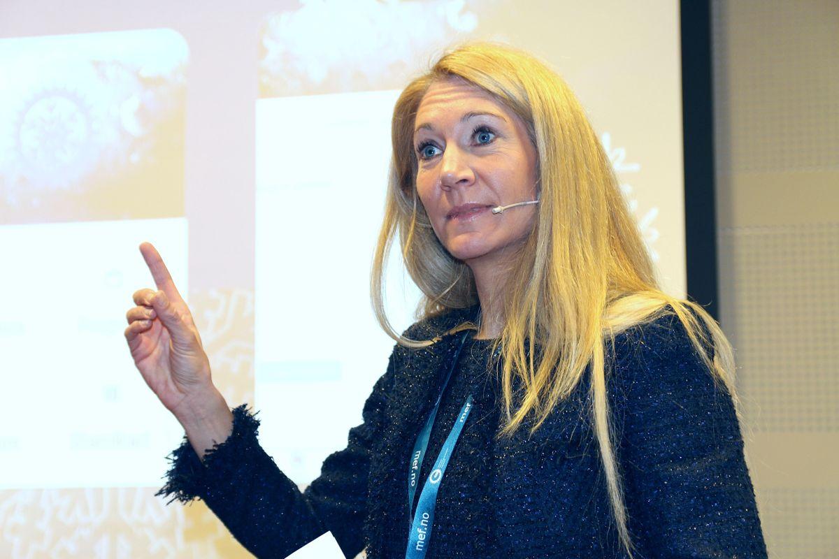 MEF-sjef Julie Brodtkorb.